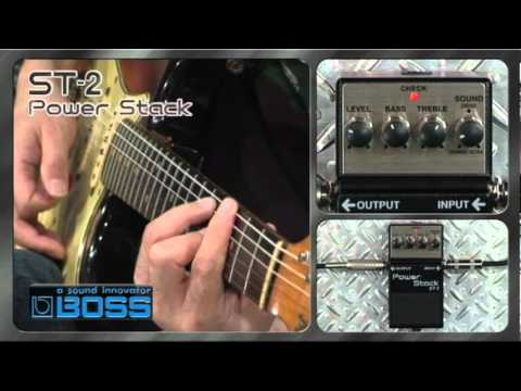 ST-2 Power Stack [BOSS Sound Check]