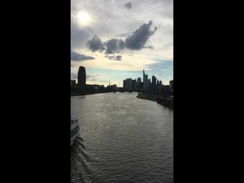 Frankfurt Sonic Vista, Skyline and European Central Bank