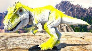 A História Do Bebê Giganotosaurus, Mim Expulsarão Do Lago De Outra Especie! Ark Survival Evolved