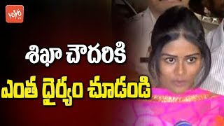 Shikha Chaudhary Speaks To Media | Jayaram Chigurupati | Rakesh Reddy