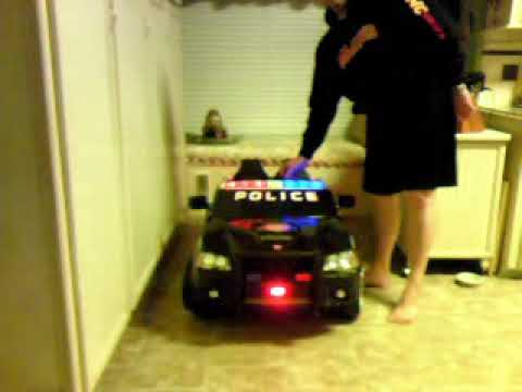 Keegan's New Dodge Charger Police Car - November 10, 2009, 12:47 AM Video