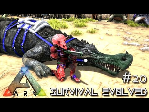 ARK: Survival Evolved - TAMING A SL1PG8R !!! - SEASON 3 [S3 E20] (Gameplay)