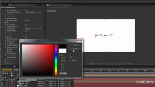 After effects Tutorial #2 Particle Ink Effect