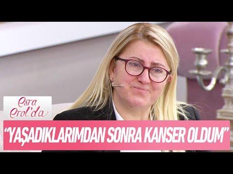 """Rabia Hanım:""""Yaşadıklarımdan sonra kanser hastası oldum"""" - Esra Erol'da 16 Ocak 2018"""