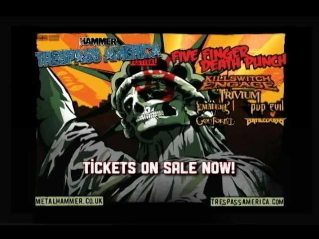 Metal Hammer presents TRESPASS AMERICA FESTIVAL - TV Spot