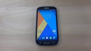Samsung Galaxy S3 Android 5.1 Lollipop - Review (4K)