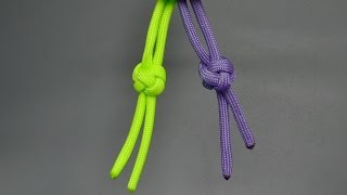 How to tie a paracord diamond knot