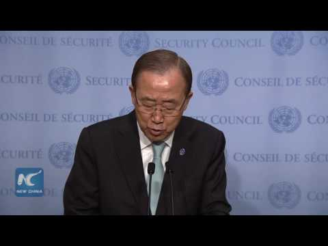 UN Chief Ban Ki-moon condemns killing of two Chinese peacekeepers in South Sudan fighting