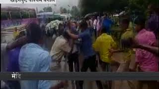 Angry BJP workers beaten police if they did not join PM Modi rally due to traffic jam