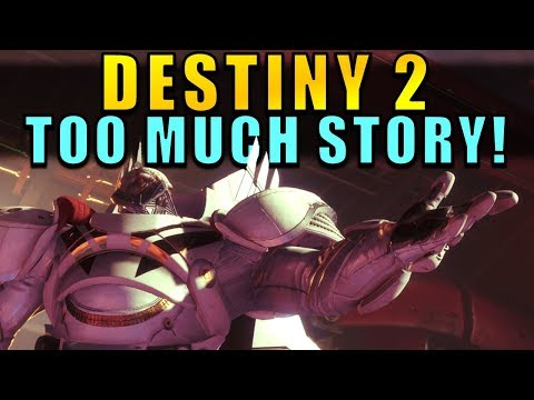 Destiny 2: TOO MUCH STORY! World-Building, Improvements, Community Feedback, & More!