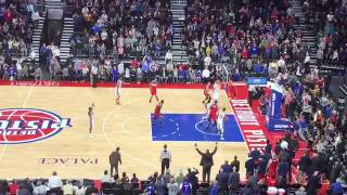 DETROIT PISTONS GAME WINNER VS WASHINGTON WIZARDS!! KRISPYFLAKES LIVE REACTION!!!