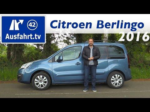2016 Citroen Berlingo BlueHDI 120 - Fahrbericht der Probefahrt. Test. Review Ausfahrt.tv