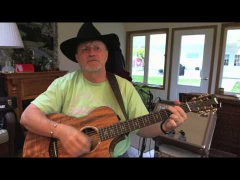 1337 -  I Wish I Could Have Been There  - John Anderson Cover With Guitar Chords And Lyrics video