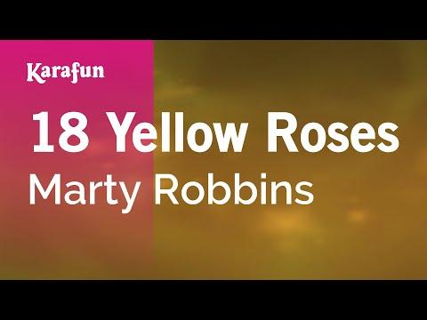 Karaoke 18 Yellow Roses - Marty Robbins *