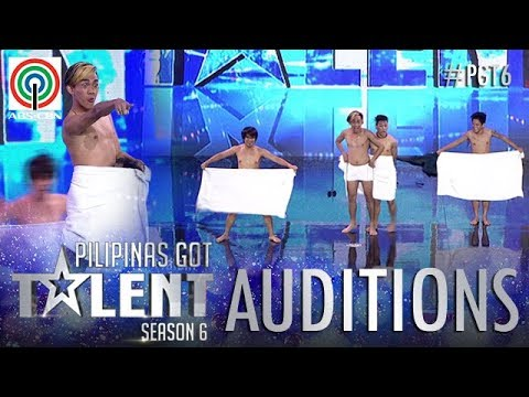 Pilipinas Got Talent 2018 Auditions: Mama's Boyz - Towel Dance | ABS-CBN