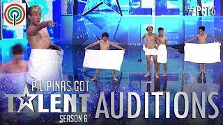 Pilipinas Got Talent 2018 Auditions: Mama's Boyz - Towel Dance