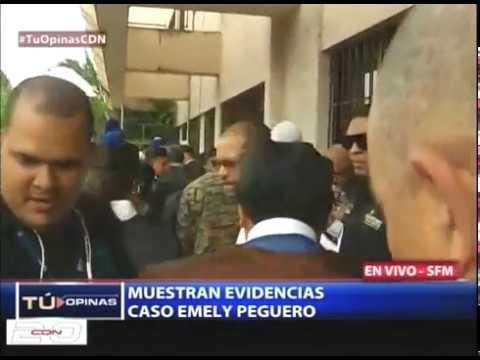 Muestran evidencias en caso Emely Peguero