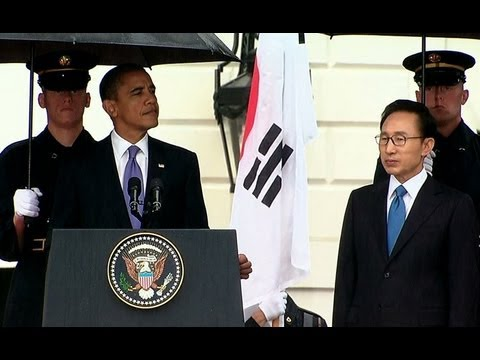 South Korea Official Visit Arrival Ceremony