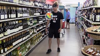 Juggling a Soccer Ball in the Wine Aisle