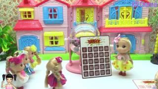 ChiChi ToysReview TV - Trò Chơi Búp bê chơi lô tô rất vui nhộn