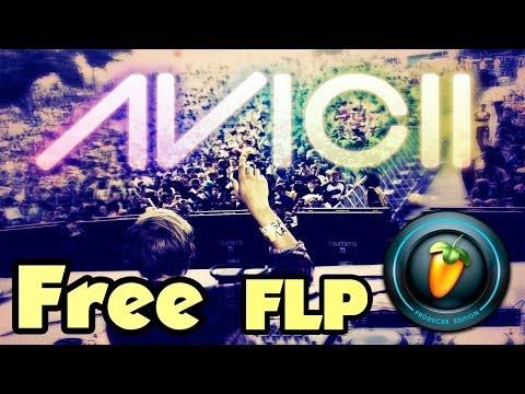 Avicii FL Studio Free MIDI Project