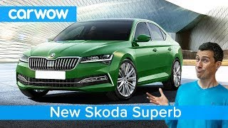 New Skoda Superb 2020 - see just what's changed and two exciting all-new models!