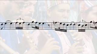 Hicaz Peşrev (1st hane & teslim) - Refik Fersan (with notes)