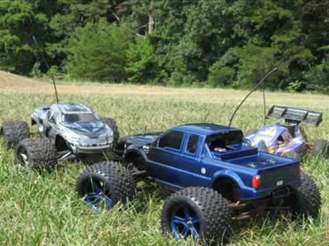 nitro traxxas revo 3.3 rc Monster trucks
