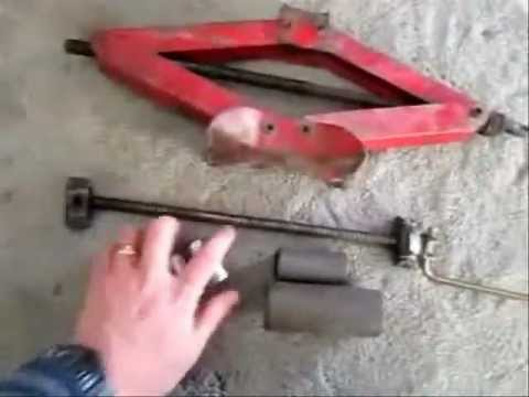 How To Make A Bush Puller From Scrap