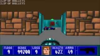 Wolfenstein 3D - Episode 6, Floor 9