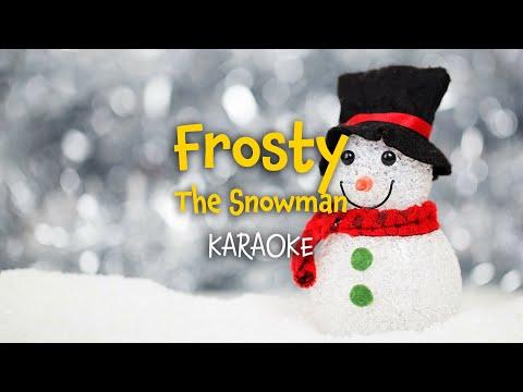 Frosty the Snowman    Christmas Carols - lyrics video for karaoke