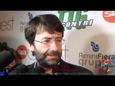 Ministro Franceschini inaugura a Rimini il Ttg Incontri 201