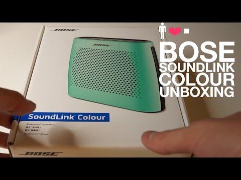 Bose SoundLink Color Bluetooth Speaker Unboxing + SEE DESCRIPTION FOR REVIEW