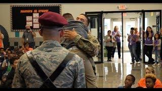 A Soldier's Surprise Family Reunion