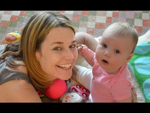 Guideposts Chats with Savannah Guthrie on the Blessings of Motherhood