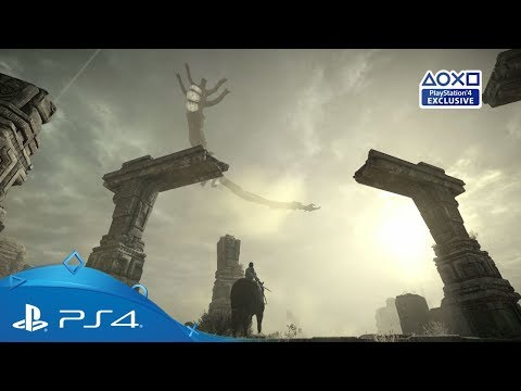 Shadow of the Colossus | PGW 2017 Gameplay Trailer | PS4