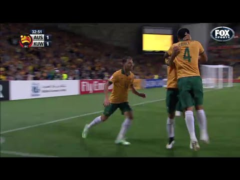 Tim Cahill goal vs Kuwait | Asian Cup 2015