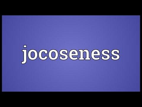 Header of jocoseness