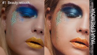 #3. Photoshop tutorial: Beauty Retouching Color Correction by Yana Efremova