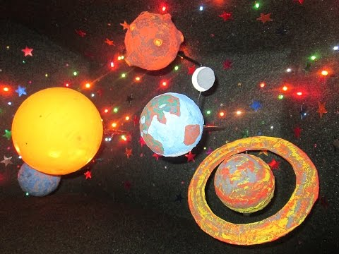 Поделка на тему космос в детский 86