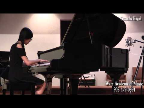 Cassandra Huynh, Ware Academy of Music, May 2014 Recital - 05/27/2014