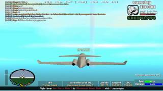 Let's Play SAMP: Pilot's Life #10 - Airline Special 2/2