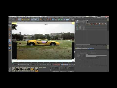 3D Gold Car for C4D