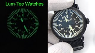 Lum-Tec Watches - The Best Glowing Watch Out There?