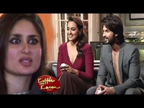 koffee with karan shahid and sonakshi online dating