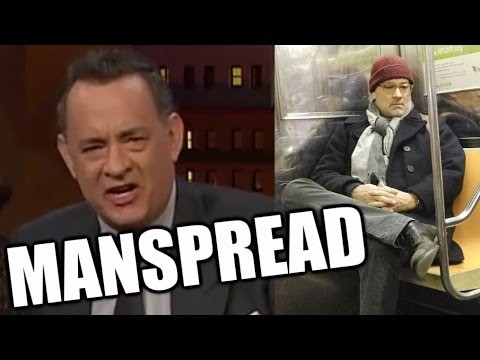 Tom Hanks On Manspreading