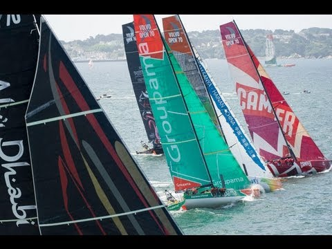 Bretagne In-Port Race Highlights - Volvo Ocean Race 2011-12