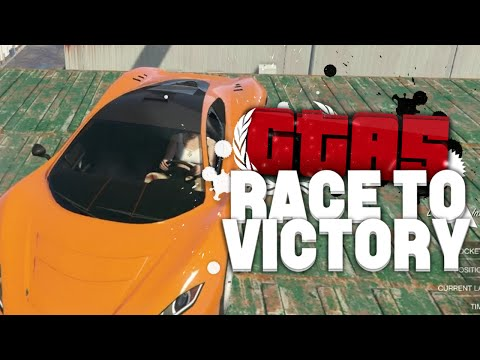 DE PANNENKOEKEN BENDE! (GTA V RACE TO VICTORY #18)