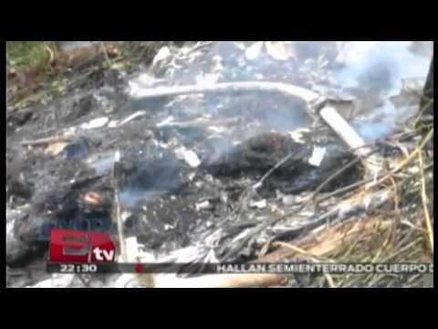 Helicóptero de TELMEX sufrió accidente dejando 4 muertos en Oaxaca /  Pascal Beltrán del Río