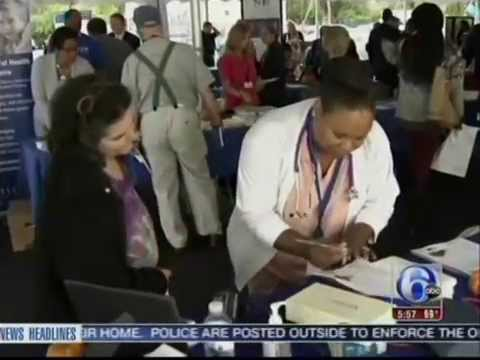 WPVINHS100214 NHS Human Services | Sharon Hill Health Fair - 6abc